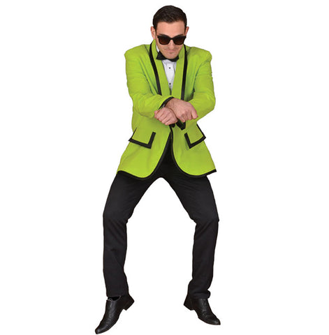 Lime Green 1950's Tux in Theatrical Costumes from BuffaloBreath at Buffalo Breath Costumes