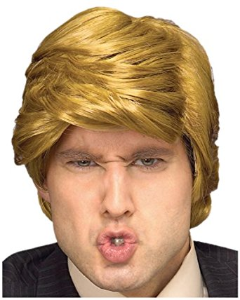 """The Billionaire"" Donald Trump wig"