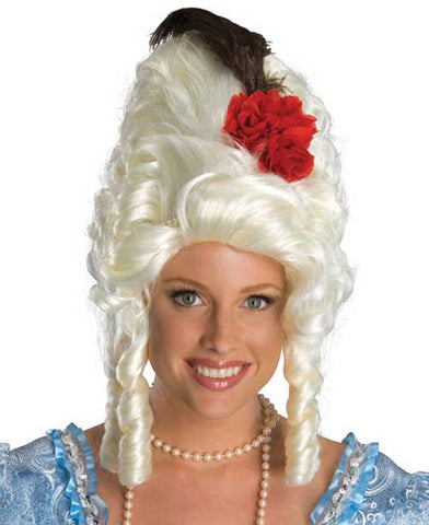 Marie Antoinette Wig by Rubie's Secret Wishes 51776 at Buffalo Breath Costumes