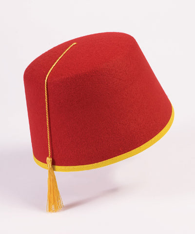 Fez Hat by Forum Novelties for purchase at Buffalo Breath Costumes in San Diego