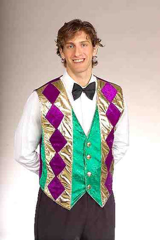 Mardi Gras Vest by Forum Novelties at Buffalo Breath Costumes