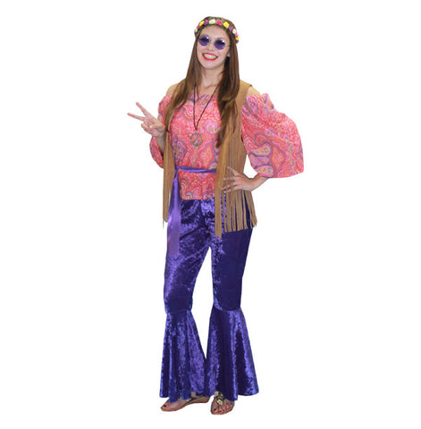1960s Hippie Woman costume rental at Buffalo Breath Costumes