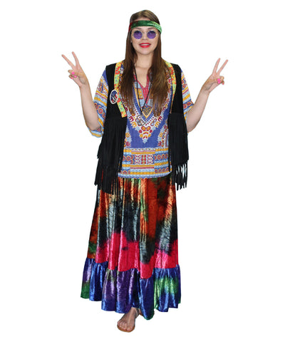 Hippie 1960's costume rental or purchase at Buffalo Breath Costumes in San Diego