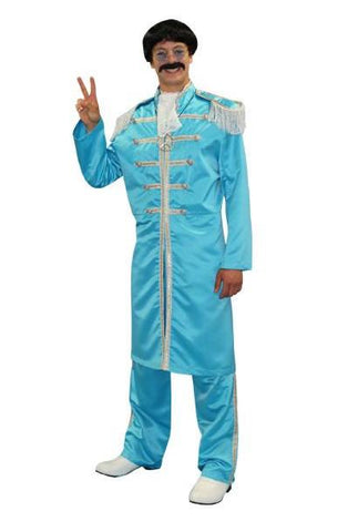 Sgt Pepper (Blue) in Theatrical Costumes from BuffaloBreath at Buffalo Breath Costumes