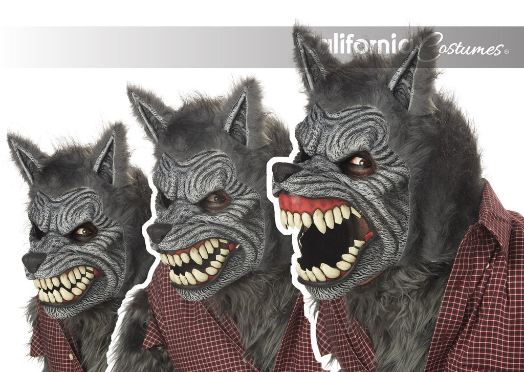 Werewolf Ani-Motion Mask by California Costumes #60305 at Buffalo Breath Costumes