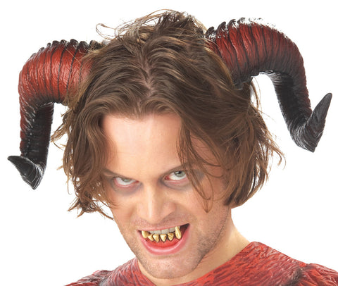 Demon Horns with Teeth
