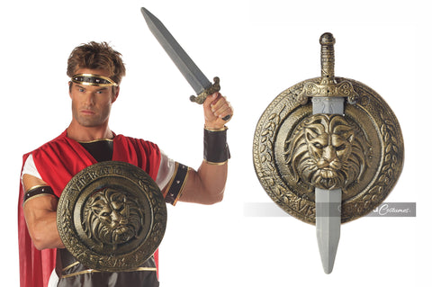 Gladiator Combat Shield and Sword