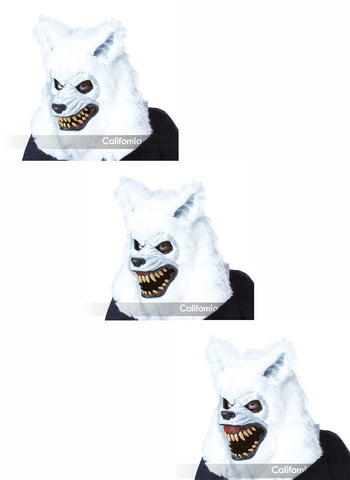 Ani-Motion Mask - White Lycan