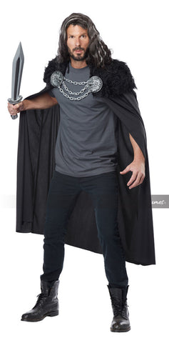 Wolf Clan Warrior Cape by California Costumes #60648