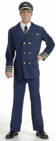 Airline Pilot costume by Forum Novelties at Buffalo Breath Costumes in San Diego