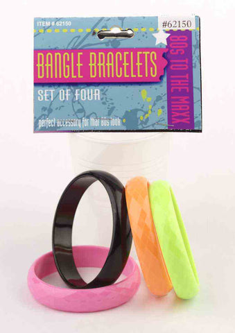 Bangle Bracelets 80's costume accessory by Forum Novelties #62150 at Buffalo Breath Costumes