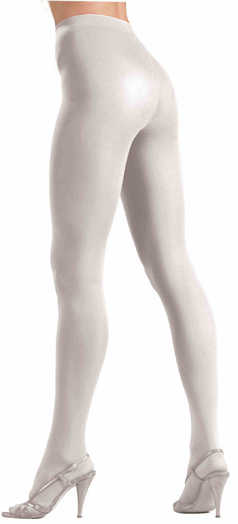Color Tights solid opaque for men or women in white, black, red, blue, or green from Forum at Buffalo Breath Costumes