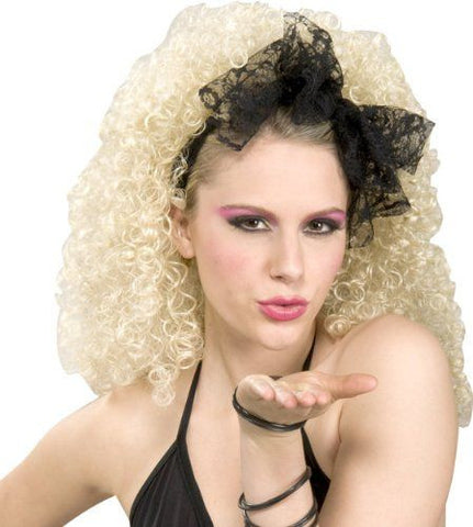 Lace Hair Scarf 80s costume accessory by Forum Novelties #63146 at Buffalo Breath Costumes