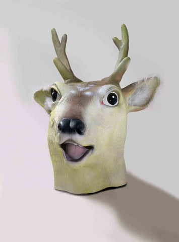 Deer Mask by Forum Novelties #65578 at Buffalo Breath Costumes