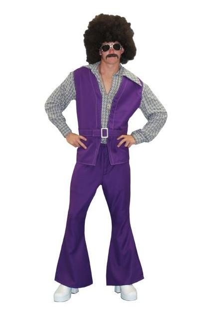 Purple Disco Male in Theatrical Costumes from BuffaloBreath at Buffalo Breath Costumes
