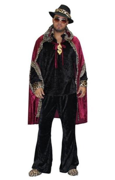 Superfly Disco Male with Red Cape in Theatrical Costumes from BuffaloBreath at Buffalo Breath Costumes  sc 1 st  Buffalo Breath Costumes & Superfly Disco Male with Red Cape u2013 Buffalo Breath Costumes