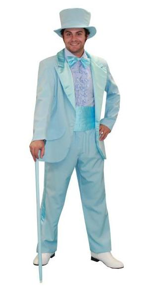 Seventies Tux (blue) in Theatrical Costumes from BuffaloBreath at Buffalo Breath Costumes