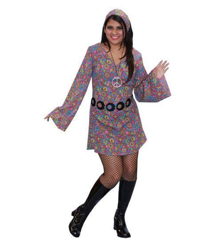70's Go-Go dress costume rental or purchase at Buffalo Breath Costumes
