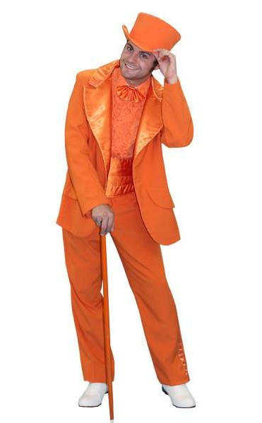 Seventies Tux (orange) in Theatrical Costumes from BuffaloBreath at Buffalo Breath Costumes