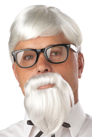 The Colonel Wig & Beard by California Costumes #70106 at Buffalo Breath Costumes