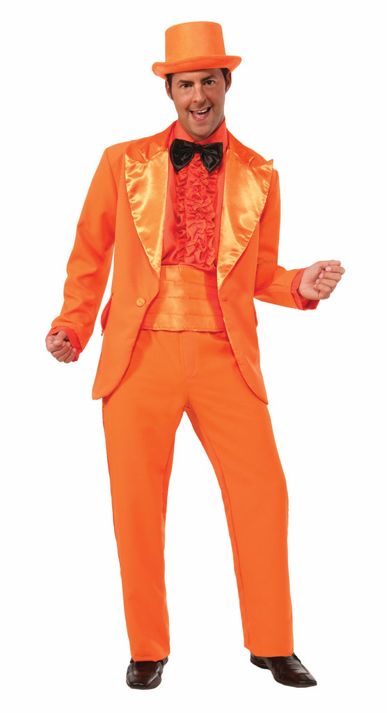 Orange Prom Tuxedo by Forum Novelties #74243, 74244 at Buffalo Breath Costumes