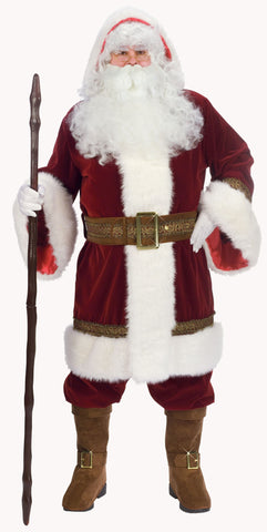 Old Time Complete Santa Suit
