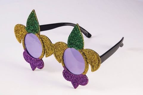 Mardi Gras Glasses by Forum Novelties at Buffalo Breath Costumes