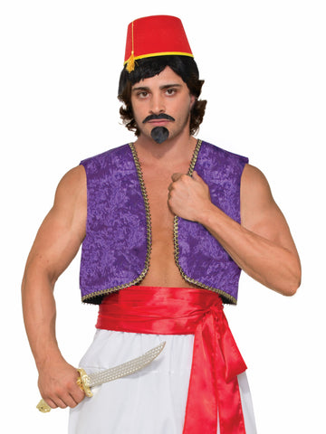 Desert Prince Genie Vest by Forum Novelties at Buffalo Breath Costumes