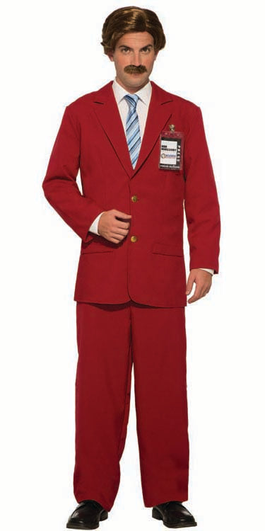 Anchorman - the Legend of Ron Burgundy costume for purchase at Buffalo Breath Costumes in classy San Diego
