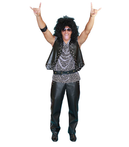 Metal Rocker in Theatrical Costumes from BuffaloBreath at Buffalo Breath Costumes