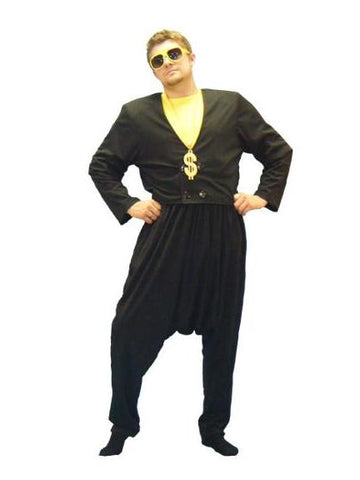 MC (black) 1980's rapper costume rental or purchase at Buffalo Breath Costumes in San Diego