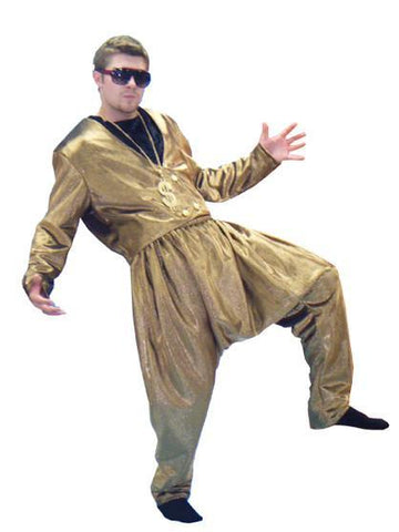 MC Gold 1980s rapper costume rental or purchase at Buffalo Breath Costumes in San Diego