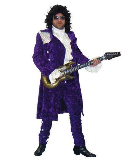 80's Pop Royalty Purple Rain in Theatrical Costumes from BuffaloBreath at Buffalo Breath Costumes