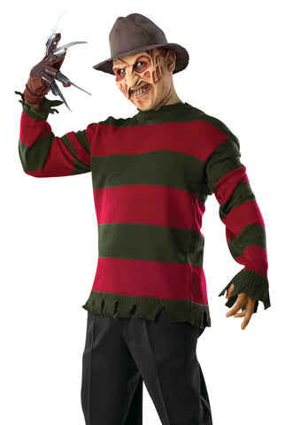 Freddy Krueger costume by Rubie's 810091 at Buffalo Breath Costumes