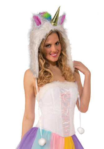 Unicorn Hood by Forum Novelties #81423 at Buffalo Breath Costumes