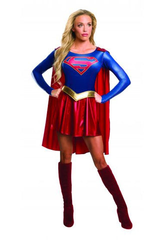 Supergirl costume by Rubie's 820238 at Buffalo Breath Costumes