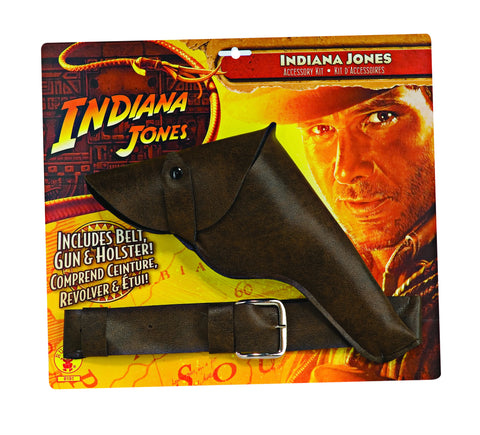 Indiana Jones Belt, Gun and Holster in Accessories from RUBIES at Buffalo Breath Costumes