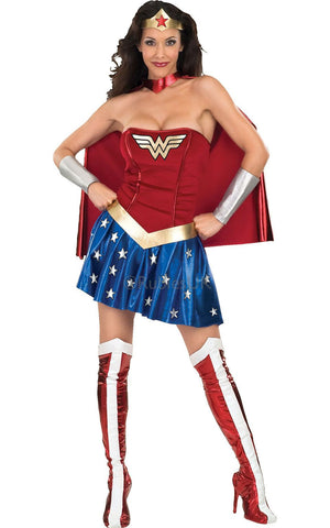 Wonder Woman in Packaged Costumes from RUBIES at Buffalo Breath Costumes