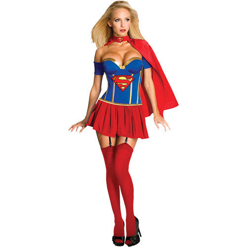 Deluxe Supergirl Corset Costume in Packaged Costumes from RUBIES at Buffalo Breath Costumes