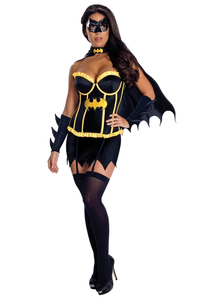Deluxe Batgirl Corset in Packaged Costumes from RUBIES at Buffalo Breath Costumes