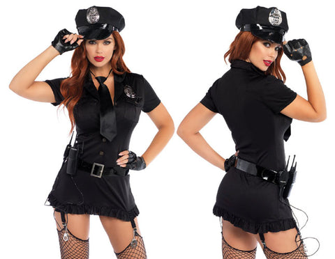 Dirty Cop sexy female police officer costume by Leg Avenue 83344 at Buffalo Breath Costumes in San Diego