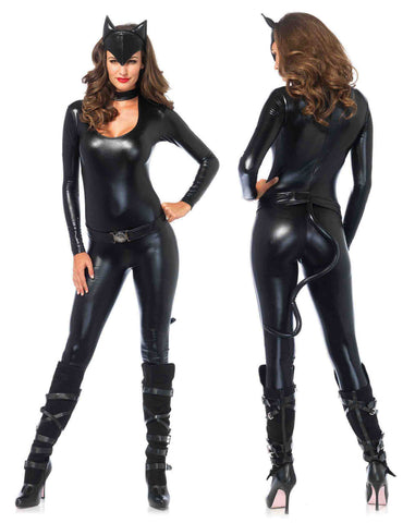 Feline Femme Fatale costume by Leg Avenue 83767 at Buffalo Breath Costumes