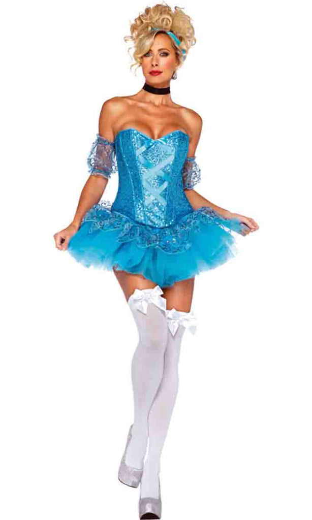 Cinderella costume by Leg Avenue 85025 at Buffalo Breath Costumes