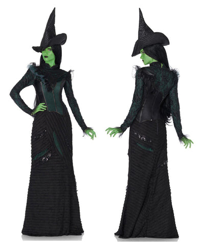 Wicked Defying Gravity Elphaba costume by Leg Avenue WI85266 at Buffalo Breath Costumes