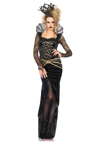 Deluxe Evil Queen costume by Leg Avenue 85462 at Buffalo Breath Costumes