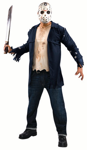 Friday the 13th Jason Vorhees costume by Rubie's 889071 at Buffalo Breath Costumes