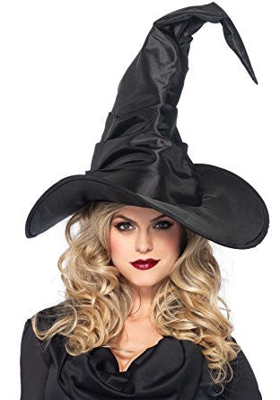 Large Ruched Witch Hat by Leg Avenue A2741 at Buffalo Breath Costumes