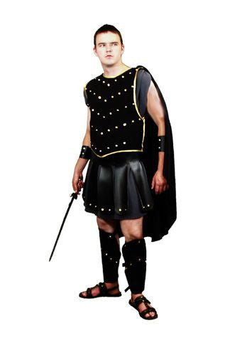 Gladiator with Studded Vest in Theatrical Costumes from BuffaloBreath at Buffalo Breath Costumes