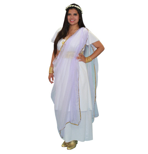 710f9a360 Roman/Greek Woman #1 in Theatrical Costumes from BuffaloBreath at Buffalo  Breath Costumes