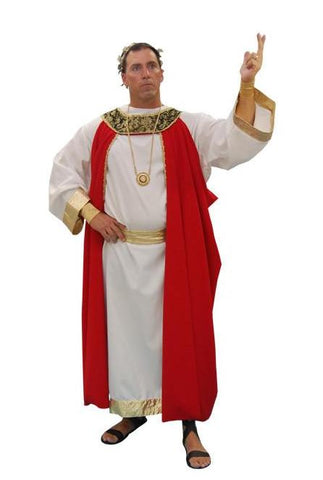 Deluxe Red Roman Emperor in Theatrical Costumes from BuffaloBreath at Buffalo Breath Costumes